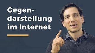 Video Thumbnail zum Artikel Berichterstattung im Internet und Gegendarstellung