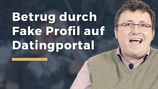 Video Thumbnail zum Artikel Fake Profil im Dating Portal und Schadensersatz