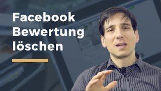Video Thumbnail zum Artikel Bewertung und Kommentar auf Facebook löschen