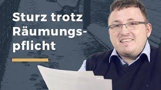 Video Thumbnail zum Artikel Unfall wegen Verletzung der Räumpflicht im Winter