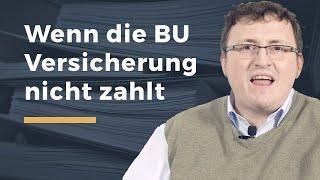 Video Thumbnail zum Artikel Berufsunfähigkeitsversicherung verweigert Zahlung