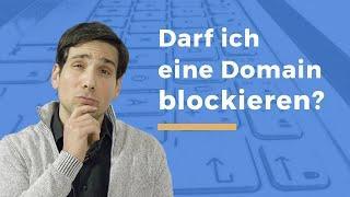 Video Thumbnail zum Artikel Rechtliche Risiken bei ungenutzten Domains