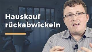 Video Thumbnail zum Artikel Praxisleitfaden zur  Rückabwicklung des Immobilienkaufs
